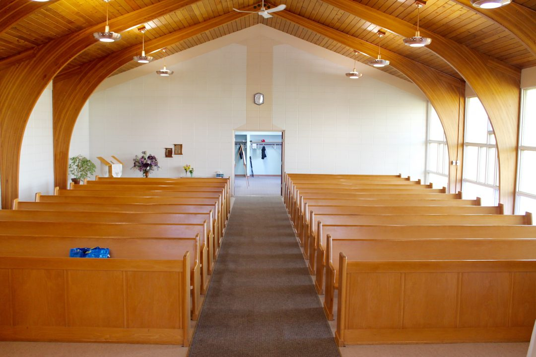 chapel view from pulpit